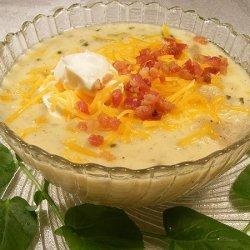 Loaded Baked Potato Soup for Crockpot recipe