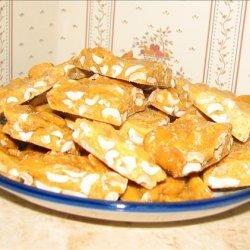 Microwave Peanut Brittle Candy recipe