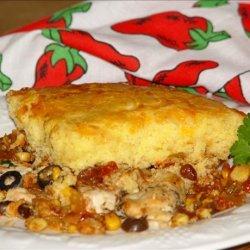 Spicy Chicken and Cornbread -  Casserole recipe