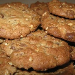 Peanut Butter Cookies With Milk Chocolate Chips recipe