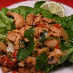 Turkey Lettuce Wraps recipe