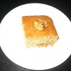 Greek Honey Walnut Cake recipe