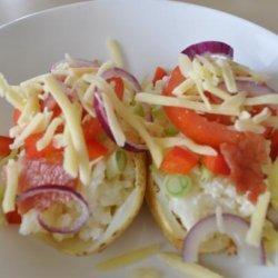 Baked Potato Salad - Loaded! recipe