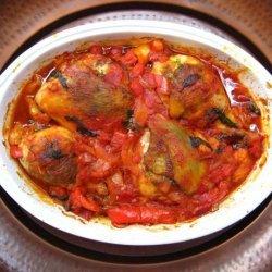 Pesto Stuffed Chicken Thighs recipe