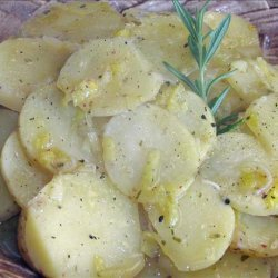 Potatoes With Leeks and Rosemary recipe