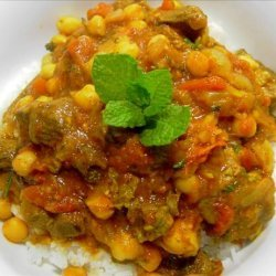 Lamb and Chickpea Stew recipe