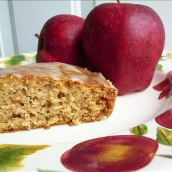 Apple Butter Spice Cake recipe