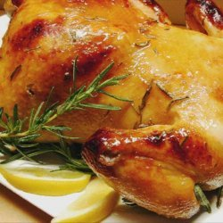 Roast Chicken With a Honey-Lemon Baste recipe