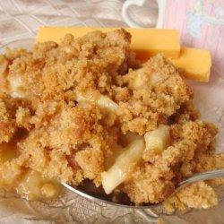 Apple and Peanut Butter Crisp recipe