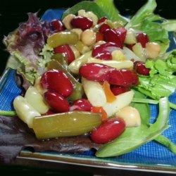 Tangy Four Bean Salad recipe
