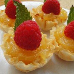 Lemon Curd Tartlets recipe