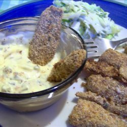 Baked Fish Nuggets recipe