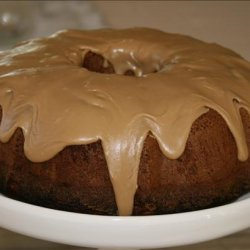 Pear Cake With Caramel Glaze recipe