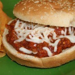 Sloppy Pizza Joes recipe