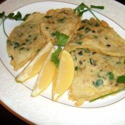 Mussel Fritters recipe
