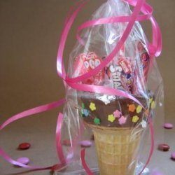 Ice Cream Cones Party Favors recipe
