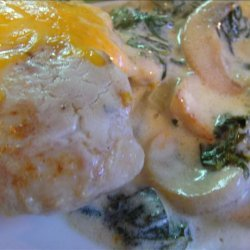 Chicken  and Spinach Florence recipe