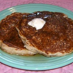 Healthy Alternative Buttermilk Pancakes recipe