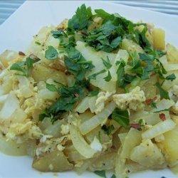 Turkish Potatoes and Eggs (Patatesli Yumurta) recipe