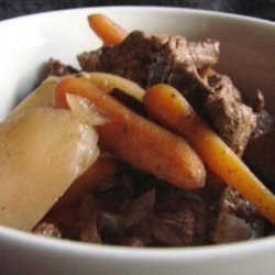 Crock Pot at the Cabin Beef Stew recipe
