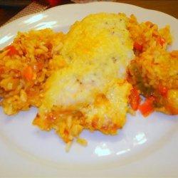 Chicken Rice & Veggie Casserole recipe