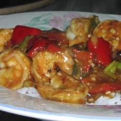 Spicy Shrimp With Hot Chili Peppers recipe