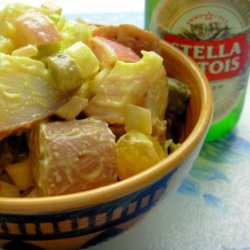 Warm Potato Salad With Beer and Mustard Dressing recipe