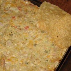Chicken Enchilada Dip or Spread recipe