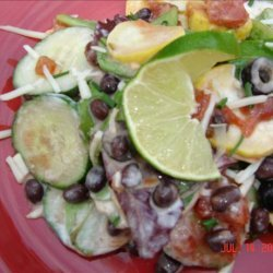 Layered Mexican Salad recipe
