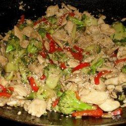 Chicken, Broccoli, and Lemon Stir-Fry recipe