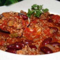 Meat Lovers  kick off Chili  recipe