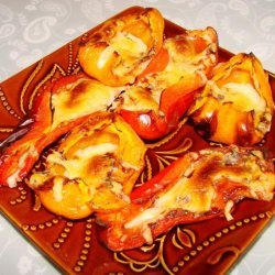 Roasted Bell Peppers and Cheese recipe