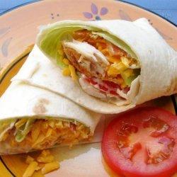 Chicken BLT Wraps recipe