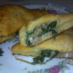 Ground Turkey Phyllo Pies recipe