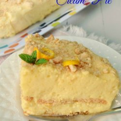 Orange Cream Pie recipe