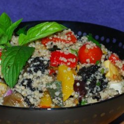 Minted Couscous With Roasted Vegetables recipe