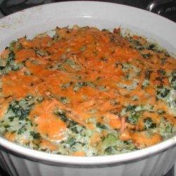 Green Rice Casserole recipe