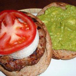 Kinda Sorta Tex Mex Burger recipe