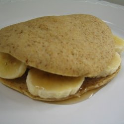 Banana Pancake Sandwich recipe
