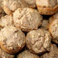 Banana Pecan Whole Wheat Mini Muffins recipe