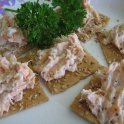 Salmon Spread With Two Ingredients recipe