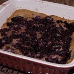 Chef Joey's Blueberry Pudding Cake (Vegan) recipe