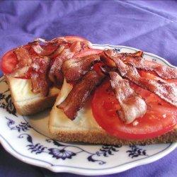 Bacon, Cheese, and Tomato Dreams recipe