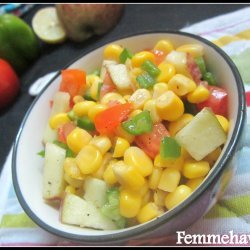 Colorful Corn Salad recipe