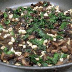 Spinach Cashew Stir Fry recipe