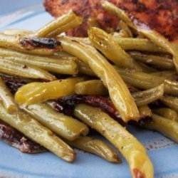 Green Beans on the Grill recipe
