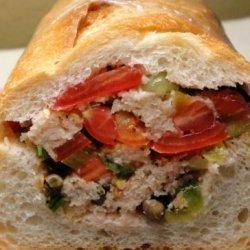 Stuffed Picnic Loaf recipe