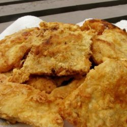 Fried Cod for Fish and Chips With Tartar Sauce recipe