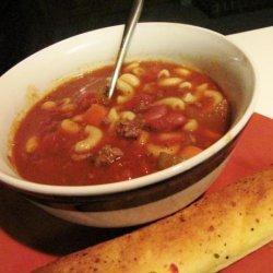 Crock Pot Pasta Fagioli recipe