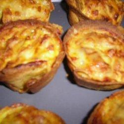 Simple Corn and Bean Tortilla Pies recipe